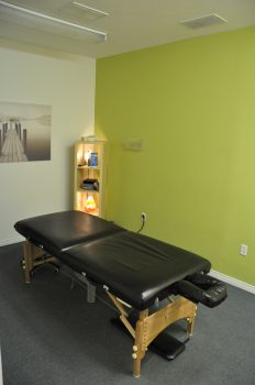 View of early treatment room