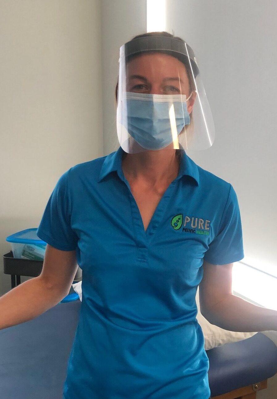 Danielle in PPE
